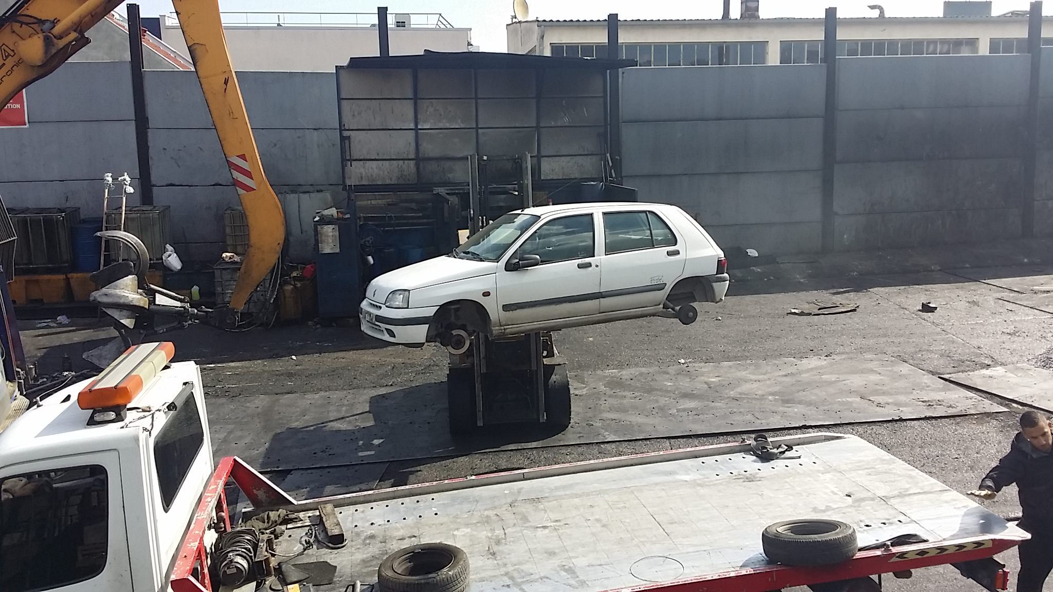 Casse auto gennevilliers for Garage rachete voiture
