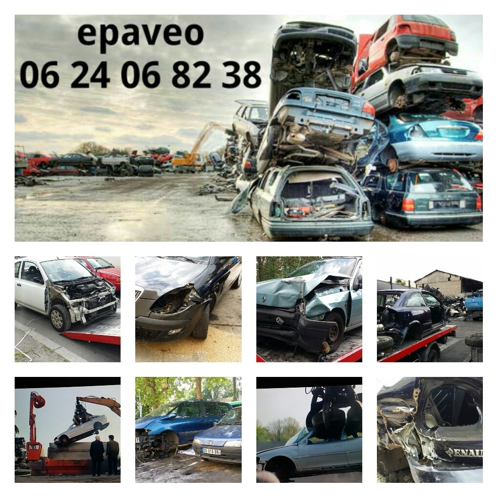 Enlevement epave voiture camion scooter panne hs gagee for Garage auto courbevoie