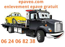 enlevement epave voiture camion scooter panne hs accidentee gagee sans carte grise paris