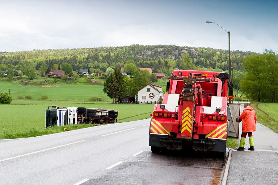 intervention de l'épaviste Morangis sur l'autoroute A6
