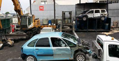 depannage remorquage voiture epave etampes sous terrains