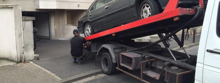 enlevement epave voiture en panne accidentee gagee hs draveil