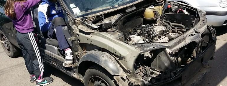 enlevement epave voiture hs panne accidentee gagee brulee Saint Cyr en Arthies