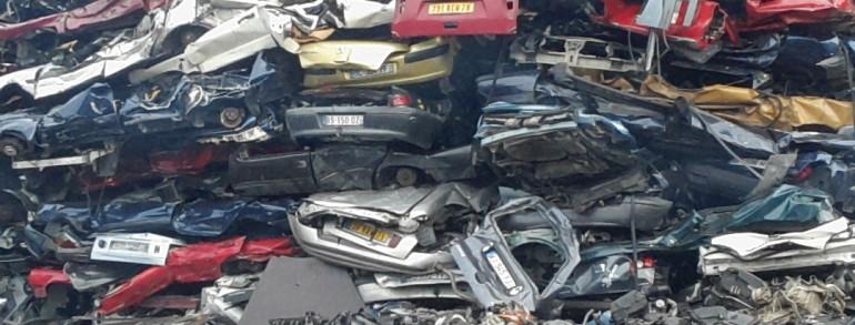 enlevement epave gratuit voiture panne gagé hors service accidenté brulé pour pieces Villeneuve le Roi
