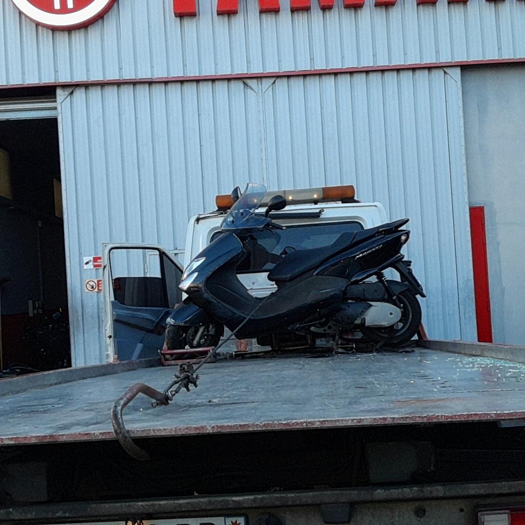 enlèvement épave moto scooter  77 seine et marne